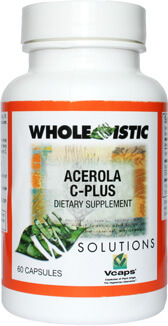 Acerola C Plus by Whole-istic Solutions